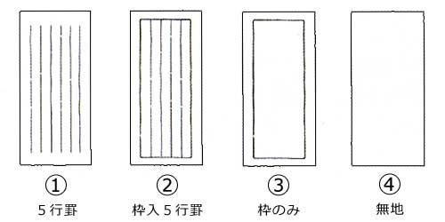 罫線の種類